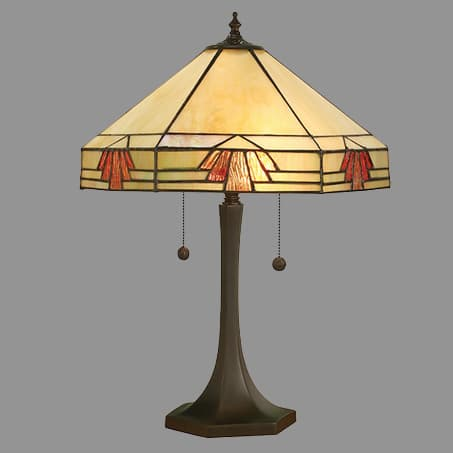Art deco table lamp david john lighting company