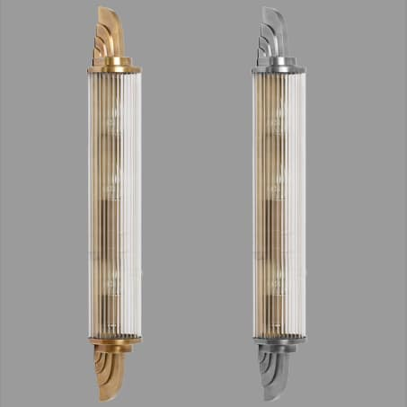 Art Deco Wall Light 85cm