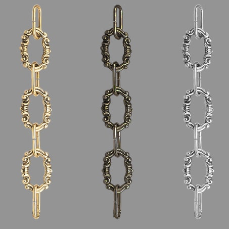 Lighting Chain Decorative C28 Brass