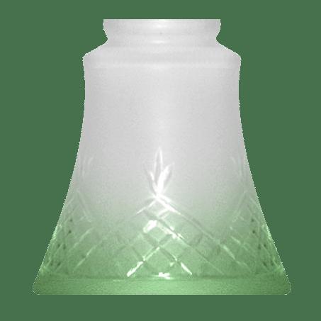 Green Tip Lighting Glass Shade