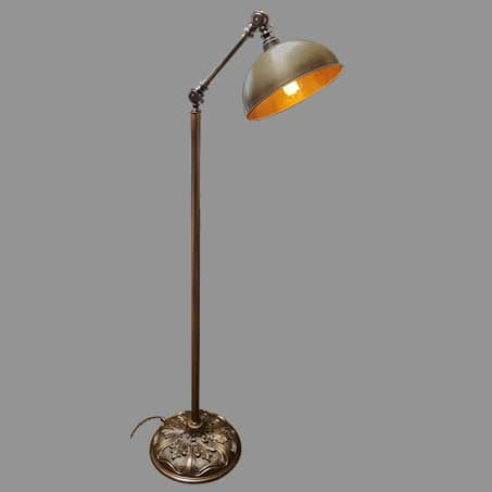 Floor Lamp Industrial Antique Dome.