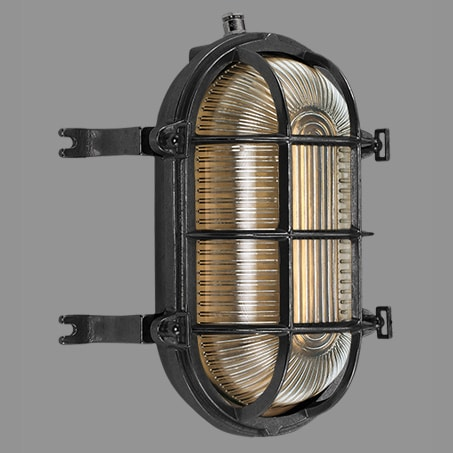 A solid brass IP64 rated wall light ( Suitable for outside use ).