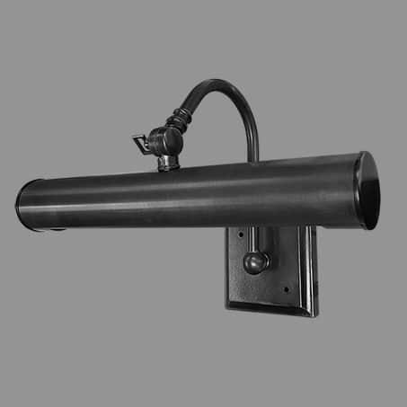 Picture Light Black finish 32cm long Solid Brass