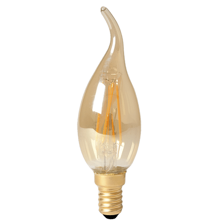 Candle Lamp Flick LED Amber 2100k