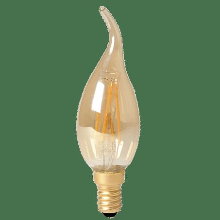 Candle Lamp Flick LED Amber 2100k