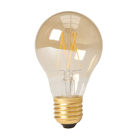 Standard Lamp Shape LED 2100k Amber E27 cap