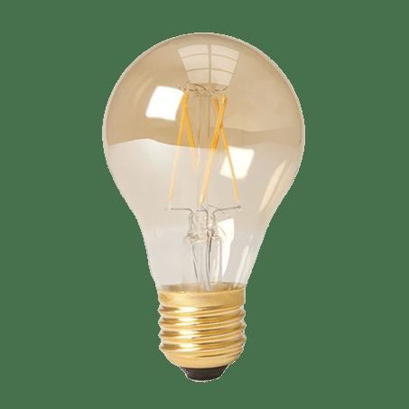 Standard Lamp Shape LED 2100k Amber E27 cap