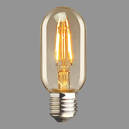 Oval Filament LED Lamp Screw Cap 2300k