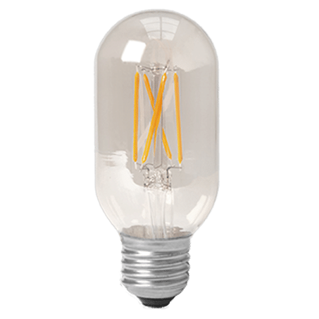 Tubular Lamp 2300k Clear E27 LED Dimmable